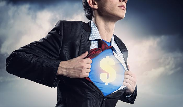 kozzi-businessman showing superman suit underneath shirt-4200x2450