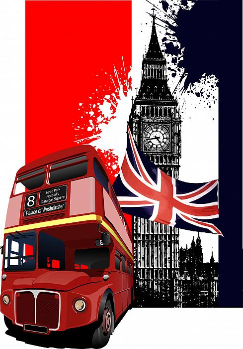 kozzi-2255194-grunge banner with london and bus images vector illustration-1211x1733