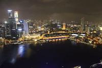 Marina Bay Sands Singapore Night